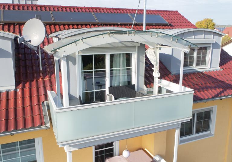 Balkone mit Überdachung in Donauwörth