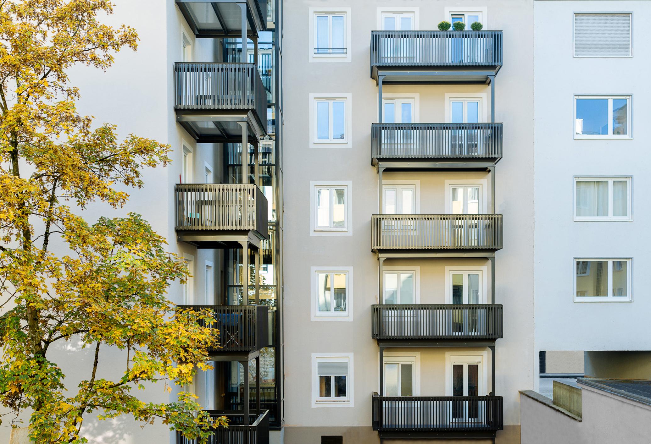 24 Balkone in München