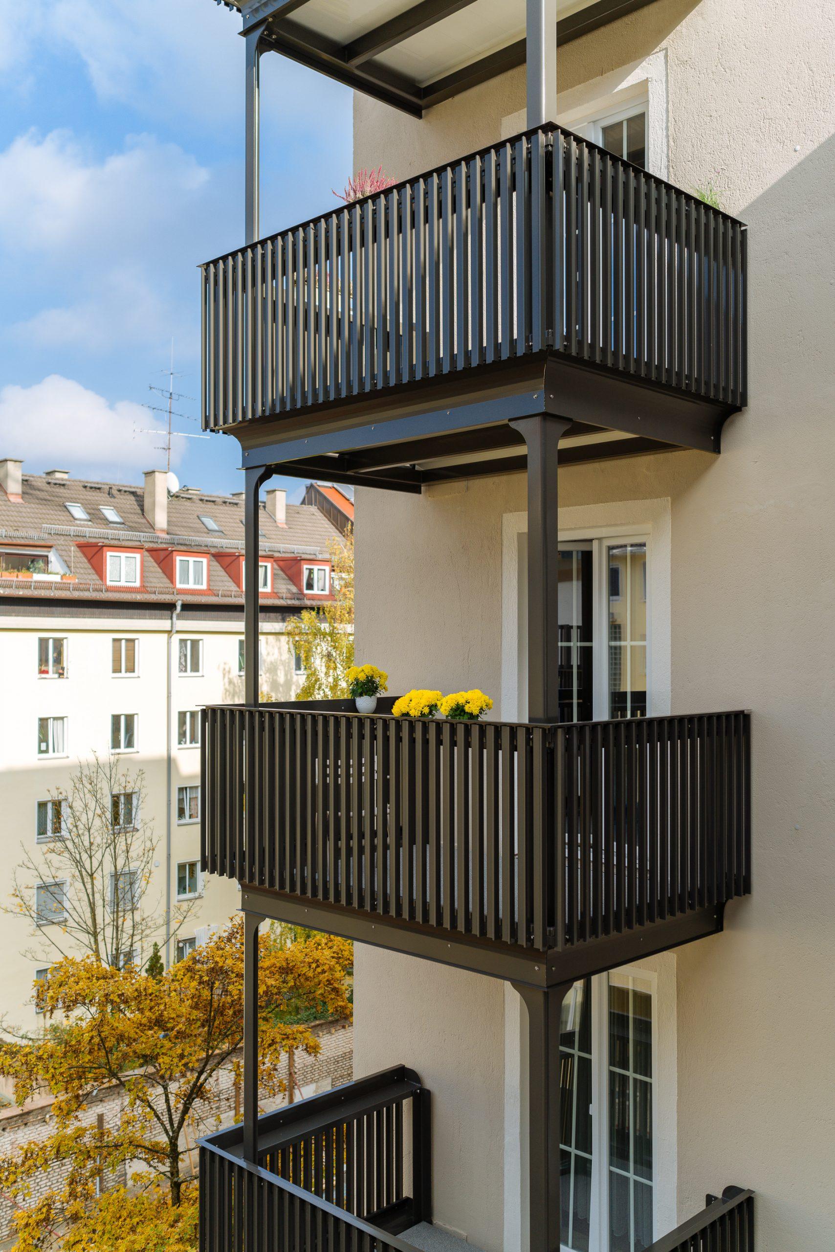 Anbaubalkon Anbaubalkone in München
