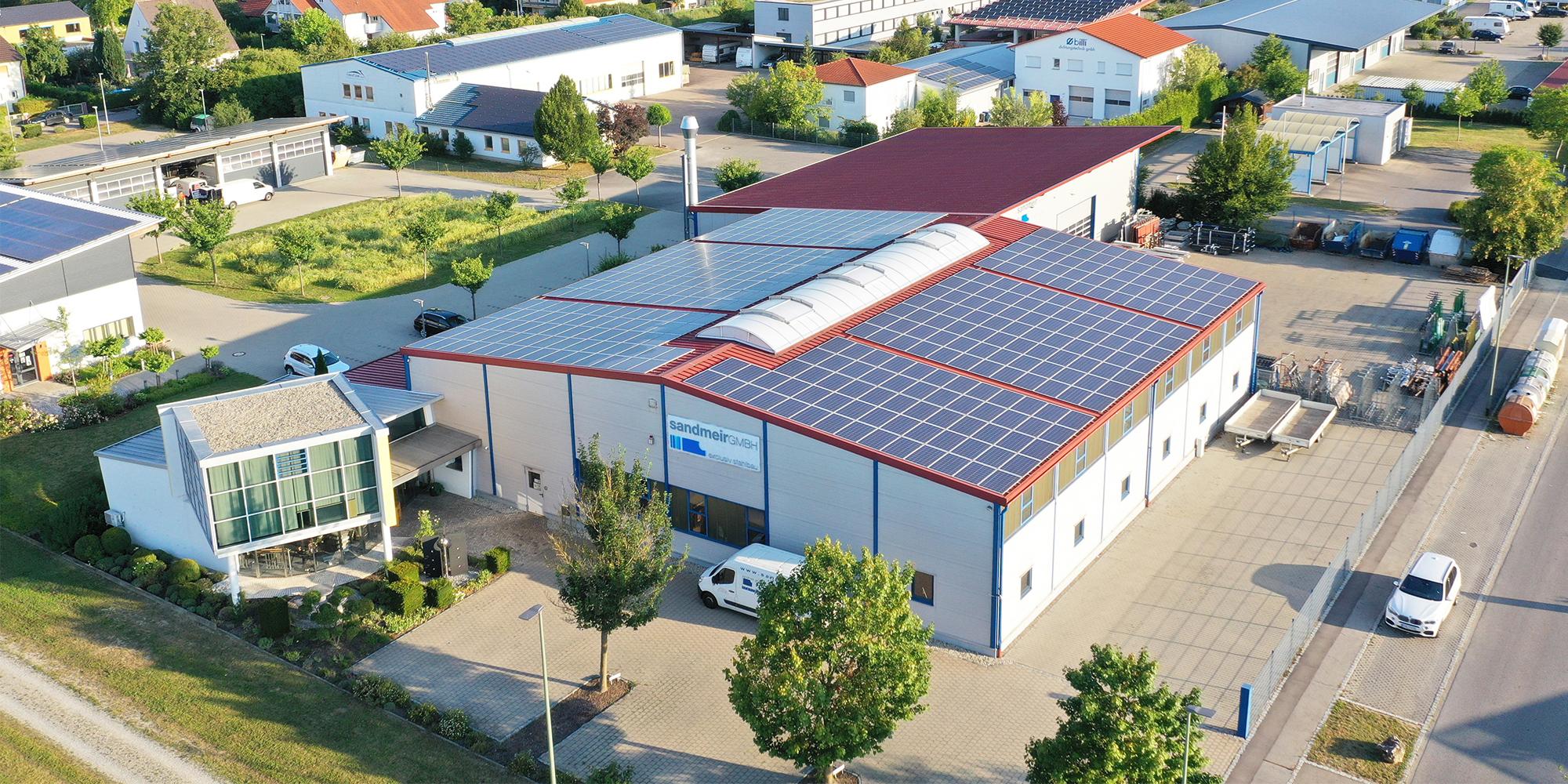 Standort Sandmeir - exclusiv Stahlbau GmbH